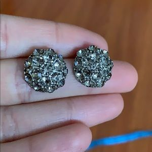 Anthropologie diamond studs